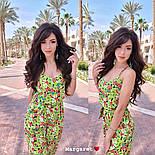 Женский комбинезон брюками в расцветках, фото 6