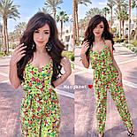 Женский комбинезон брюками в расцветках, фото 7