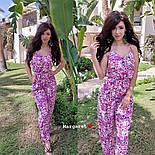 Женский комбинезон брюками в расцветках, фото 8