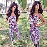 Женский комбинезон брюками в расцветках, фото 9