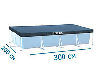 Тент для прямоугольных бассейнов Intex 28038 (300*200 см)