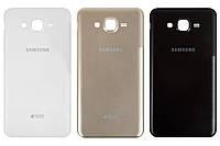 Задняя панель корпуса (крышка аккумулятора) для Samsung Galaxy J7 J700H/DS, оригинал