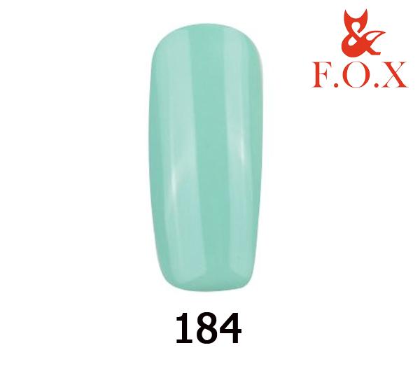 Гель-лак FOX Pigment № 184 ( нежный мятный), 6 мл