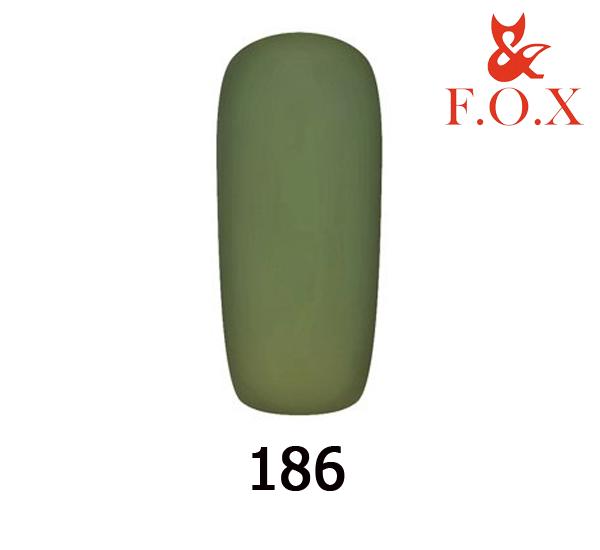 Гель-лак FOX Pigment № 186 (хаки), 6 мл