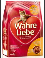 Сухой корм для кошек Mera Cat (Мера Кет) Wahre Liebe Hauskatzeне живущих в доме, 400 г