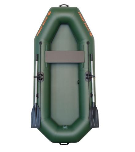Лодка надувная Колибри из пвх к-230х одноместная гребная
