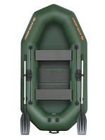Лодка надувная Колибри из пвх к-250тх двухместная гребная