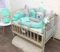 """Комплект в кроватку для новорожденного """"Макси"""""""