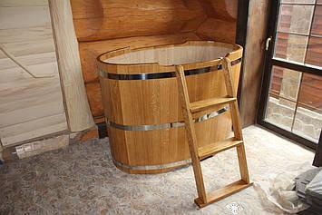 Купель из дуба для бани 800*1200*h1000