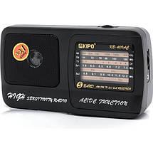 Радиоприемник KIPO Радио KB 409 AC Fm радиоприемник от сети и батареек Fm радио, фото 2