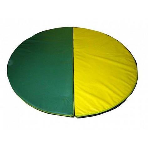Спортивный круглый мат 110 см , фото 2