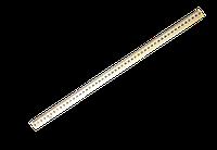 Линейка деревянная 50 см шелкография 103011