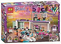 """Конструктор Friends Bela 11039 """"Мастерская по тюнингу автомобилей"""" (аналог Lego 41351), 418 деталей"""