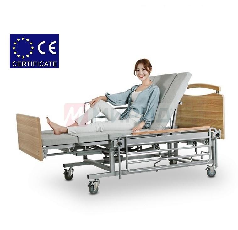 Медицинская кровать с туалетом Е08. Функциональная кровать. Кровать для реабилитации. Для инвалида.