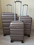 WORDLAINE 628 AIRTEX Франція ABS Polycarbonate валізи чемоданы, фото 5