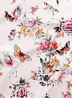Футер цветные бабочки ( цифровая печать )