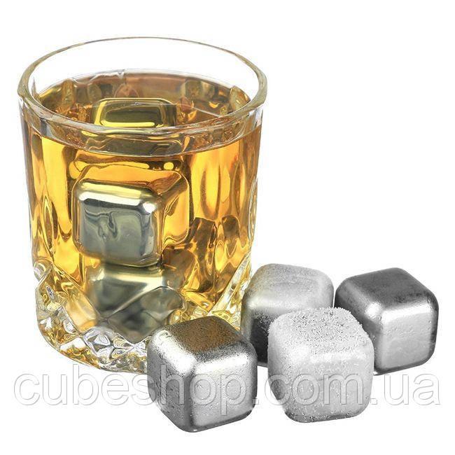 Стальные камни для виски Chilling Power Six (6 шт)