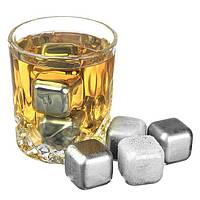 Стальные камни для виски Chilling Power Six (6 шт), фото 1