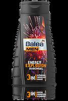 Гель для душа мужской 3в1 (лицо, тело, волосы) Balea Men Duschgel Energy Explosion