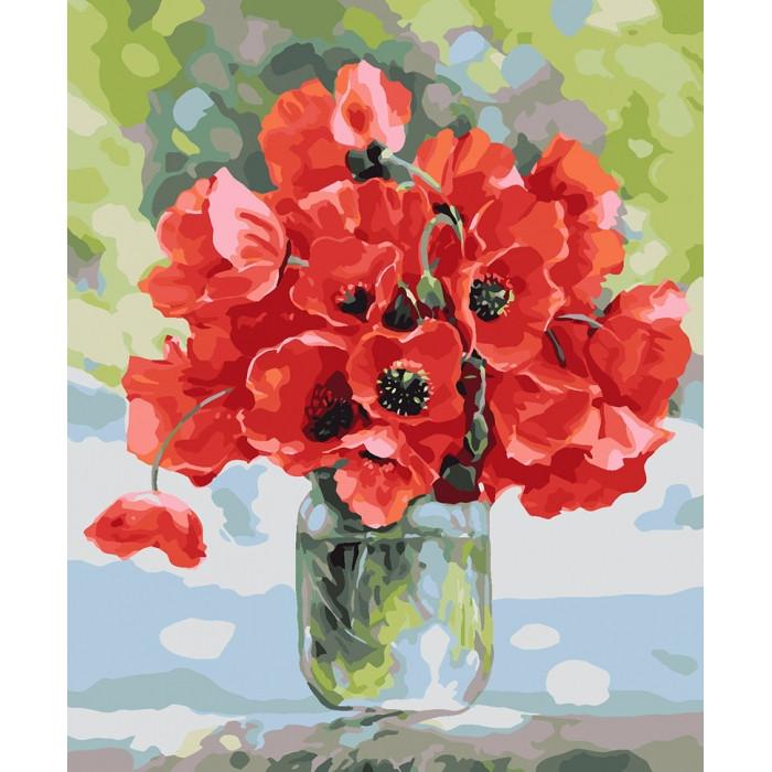 Картина по номерам Барвисте літо, 40x50 см., Идейка