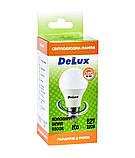 Лампа светодиодная DELUX BL60 15Вт 6500K Е27 холодный белый, фото 3