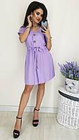 Платье-рубаха лен, фото 1