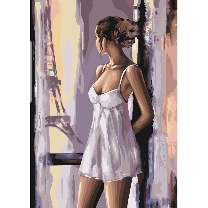 Картина по номерам Французські мрії, 35x50 см., Идейка