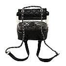 Рюкзак-сумка,сундучок прозрачный PingShang черный (AV122), фото 3