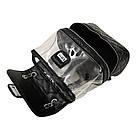 Рюкзак-сумка,сундучок прозрачный PingShang черный (AV122), фото 4