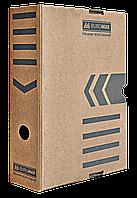 Архивный бокс Бокс для архивации документов 80 мм JOBMAX Buromax BM.3260-34 крафт, фото 1