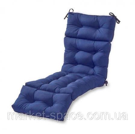 Матрас для шезлонга. Цвет: синий.180/60/10, фото 2