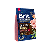 Brit Premium Dog Adult L, 3 кг