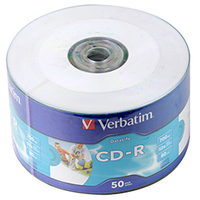Диски Диск Verbatim CD-R 700Mb 80min 52 Shrink 50 шт.d.005281