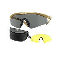 Баллистические очки Revision Sawfly 2 линзы оправа Coyote Tan, оригинал.