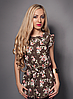 Цветочная женская летняя блуза