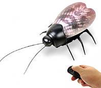 Насекомое Муха с подсветкой на радиоуправлении, мини-робот, интерактивная игрушка beetle fluorescent