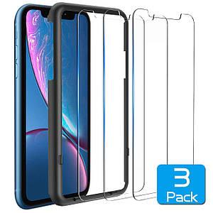 Защитное стекло - kolpop для iPhone XR