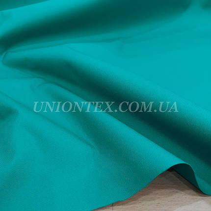 Ткань оксфорд 600D PU бирюзовый, фото 2