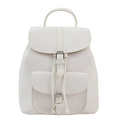 Рюкзак женский с карманами в стиле Grafea LEFTSIDE белый (653/4)