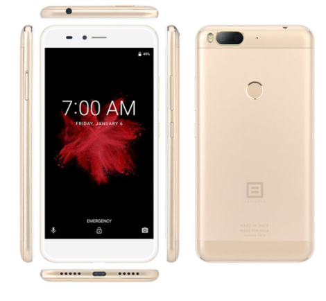 "Телефон Billion Capture Plus Gold 3/32 Gb 5.5""/ Snapdragon 625 / 13Мп / 3500мАч 4G Type-C / ГАРАНТИЯ"