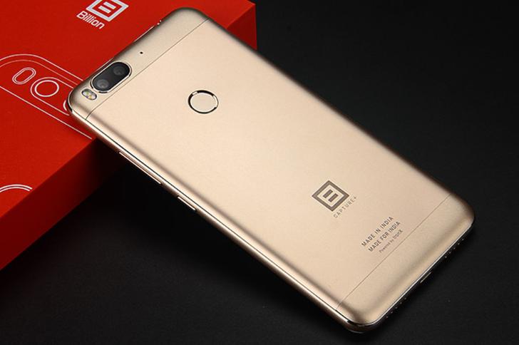 "Телефон Billion Capture Plus Gold 3/32 Gb 5.5""/ Snap 625 / 13Мп /"