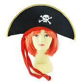 """Шапка пиратская """"Владыка морей"""" 170216-117"""