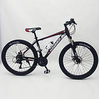 """Велосипед горный 26"""" HAMMER Черно-Красный. Алюминиевая легкая рама., фото 1"""
