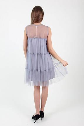 Платье 8837(серое), фото 2