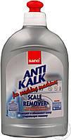 Чистящее средство от налета, ржавчины Средство SANO для удаления известкового налета стиральных машин 500мл