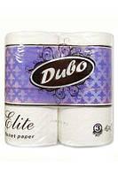 Туалетная бумага Elite Обухов белая 3-х слойная 4р 156 отр 0130419