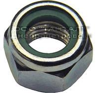 Контргайка с неметаллической вставкой нержавеющая от М3 до М48, ГОСТ Р 50273-92, DIN 985, ISO 10511
