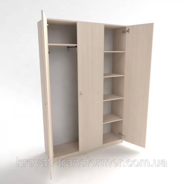 Шкаф платяной  комбинированный офисный ШК-2