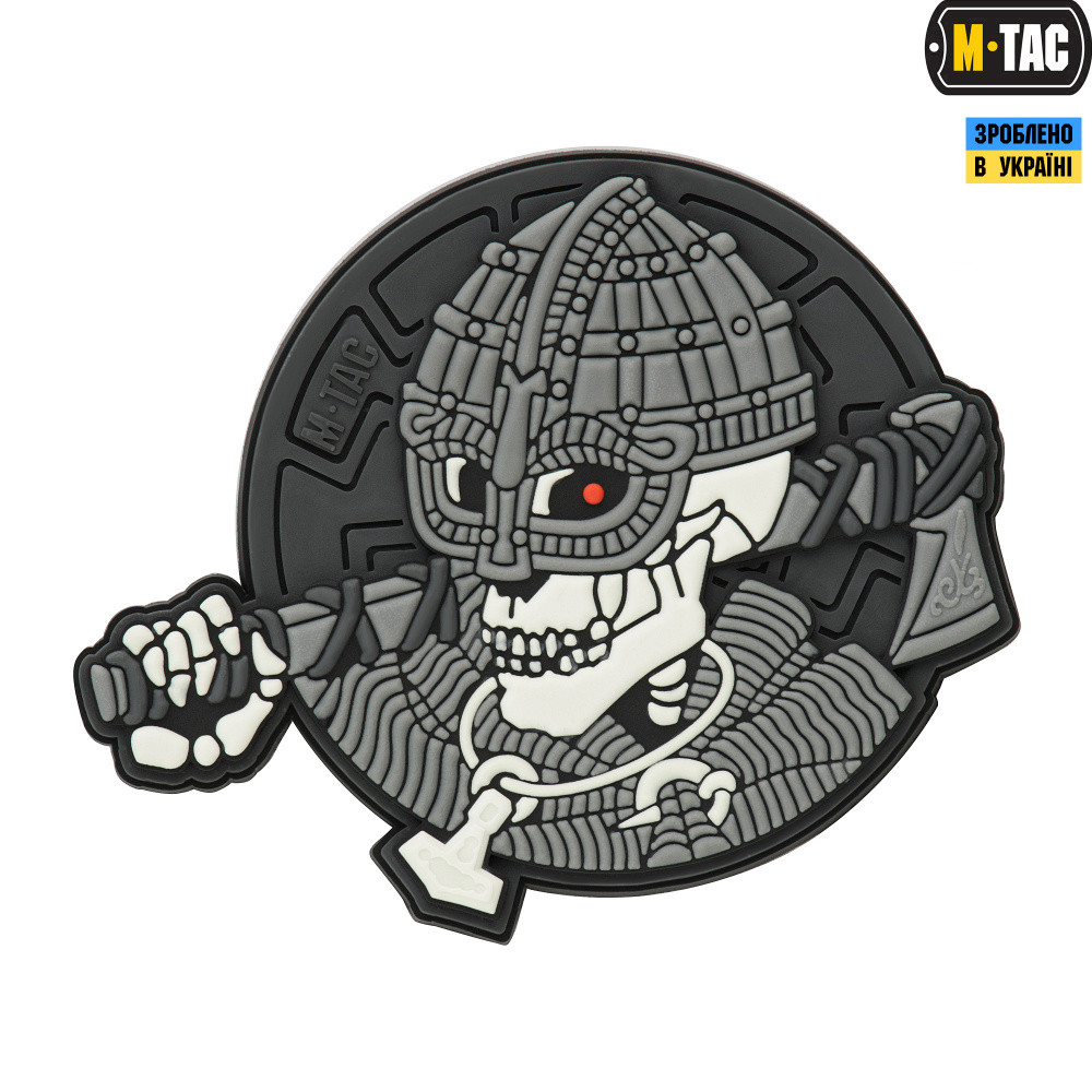 Патч M-Tac Undead Viking 3D Grey ПВХ