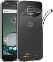 Прозрачный Чехол Motorola Moto Z (XT1650) (ультратонкий силиконовый) (Моторола З Зет ХТ1650)